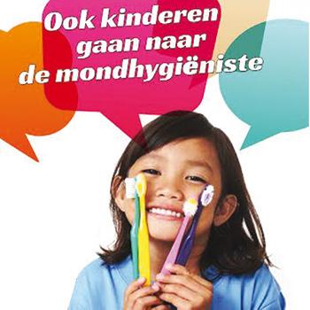Ook kinderen naar de mondhygiëniste