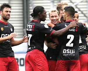 Excelsior na twee speelronden op de vijfde plaats Eredivisie