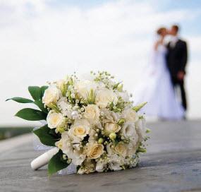 bruiloft beket