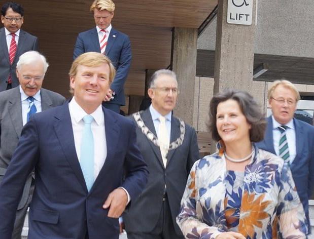 Koning bij opening Academisch Jaar EUR