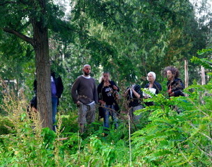 zondag 28-09-14 rondleiding Shii Take Kwekerij Trompenburg