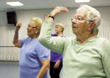 Ouderen blijven vitaal met dans