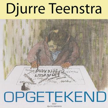 Djurre Teenstra signeert zijn nieuwe boek