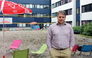 Jon de Ruijter, directeur van Stichting Erasmus Sport