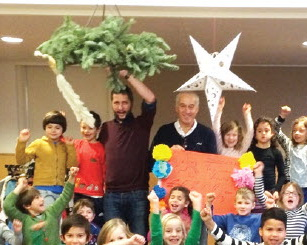 Olifant bezoekt Vrijeschool Vredehof