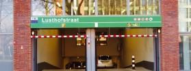 Parkeergarage Lusthofstraat: eerste half uur gratis parkeren