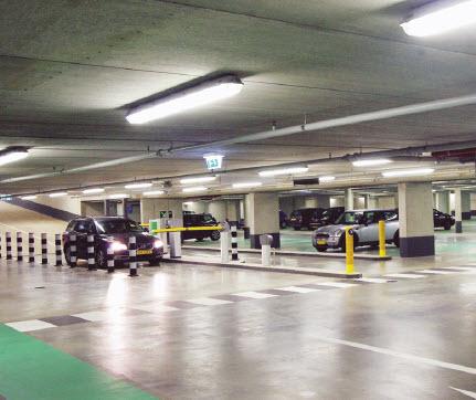 Parkeren in parkeergarage Lusthofstraat