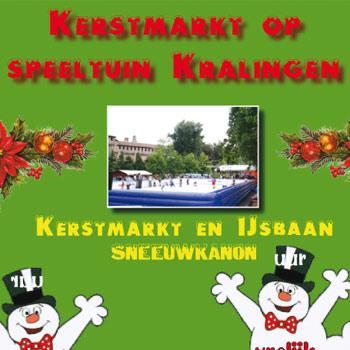 Kerstmarkt op Speeltuin Kralingen