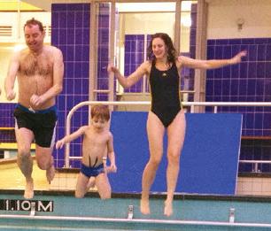Lancering ZwemApp met nieuwjaarsduik