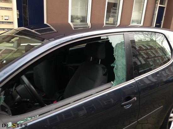 Vier aanhoudingen na auto-inbraak Kerkhoflaan