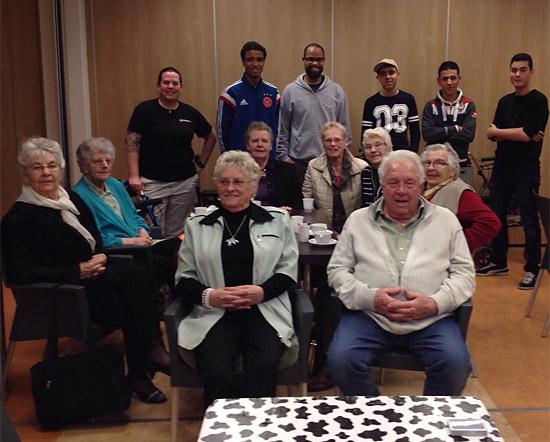Jongeren organiseren spelmiddag voor ouderen Rubroek