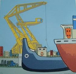 werk 2 Rotterdamse graficus Wim Biesheuvel