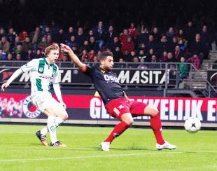 Na 1-1 tegen Groningen wacht nu stadsderby tegen Feyenoord