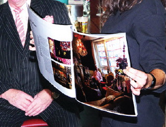 Fotoboek over klanten Kaat Mossel
