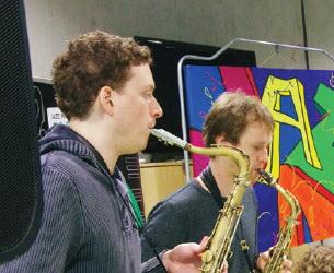 Amsterdamse saxofonisten