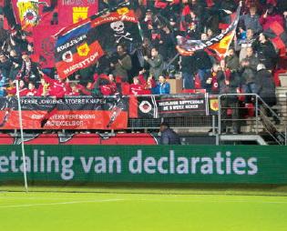 Spanning in de Eredivisie na afgelopen weekend verder toegenomen