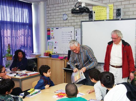 Klaus Oordt en Dik Vuik