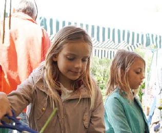 'Lentefeest' in Botanische Tuin
