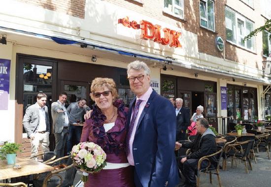 Ineke Groeneveld en Ron Berg