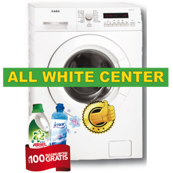ALL WHITE CENTER aanbiedingen en service