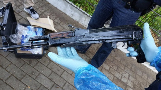 AK47 Politie Rotterdam eo