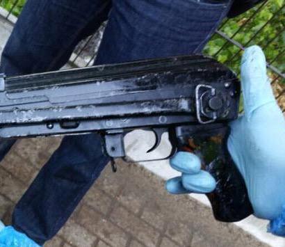 Kalasjnikov gevonden bij arrestatie in Capelle