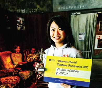 Mi Sun Hiltermann 'Creatieve ondernemer van het jaar'