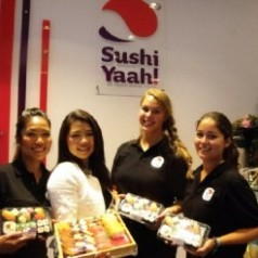 SushiYaah is gespecialiseerd in sushi en sashimi