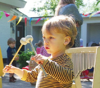 Kinderdag en verjaardag Dikkedeur