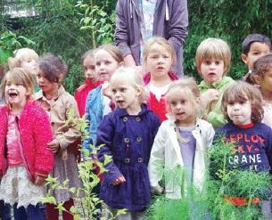 Feestelijke opening van 'De geheime tuin'