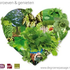Biologische lentemarkt bij de Groene Passage