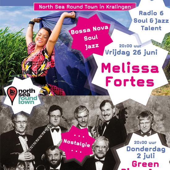 North Sea Round Town concerten in Kralingen
