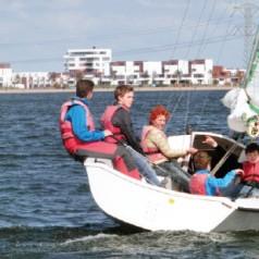 Henk van Gent gangmaker bij Lake 7 Sailing