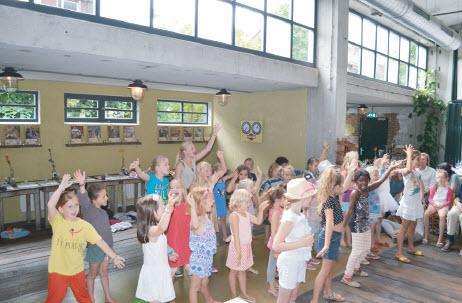 Zomerdansweek 2015 Dansstudio la Barre!