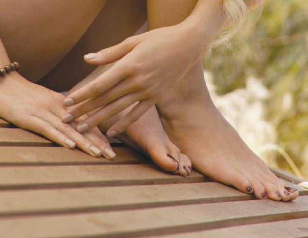 Luxe cosmetische voetbehandeling voor dames met 30% korting
