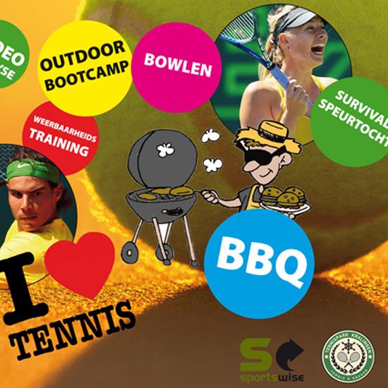Tenniskamp voor jeugd bij Tennispark Kralingen