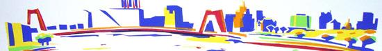 rotterdam,-de-willembrug---willem-van-hest-2e-uitsnede---eigen-(sjabloon)druk---2010---oplage-25