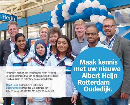 Maak kennis met uw nieuwe Albert Heijn Rotterdam Oudedijk