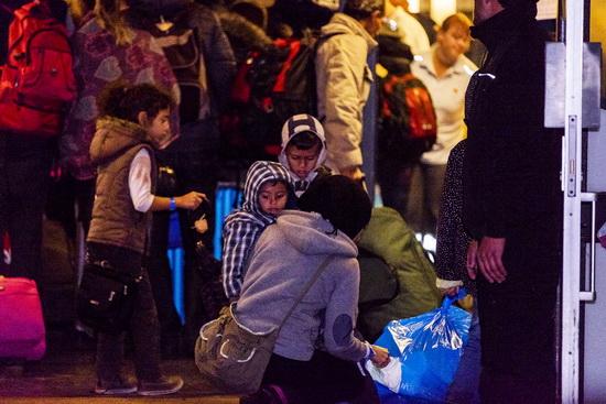Noodopvang vluchtelingen in Crooswijk