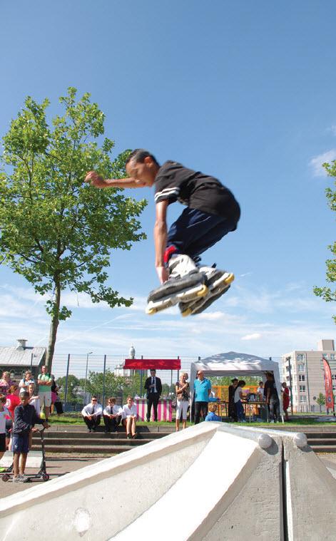 skatebaan aan de Lage Filterweg