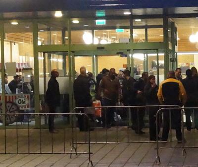 Vluchtelingen vertrokken uit Schuttersveld