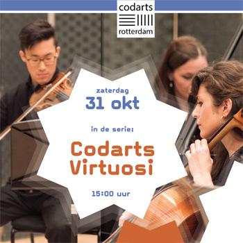Virtuosen Codarts in Centrum Pro Rege