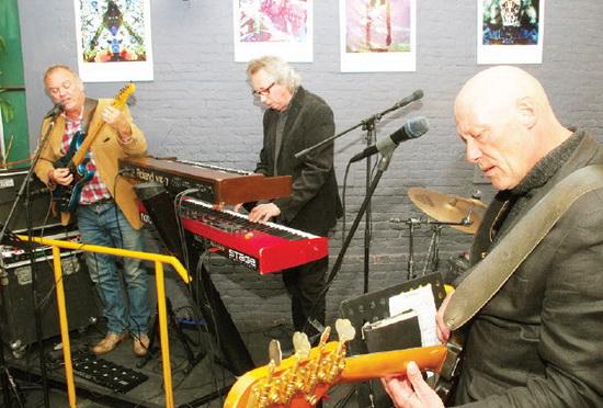 Dave Hinde, Paul Vink Aike Elshout.
