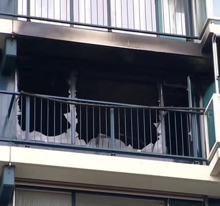Dode bij brand in seniorenflat Alexanderpolder