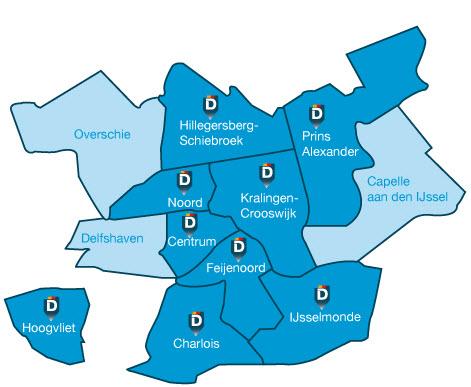 Partijen Nieuw Rotterdams Welzijn 2016 bekend