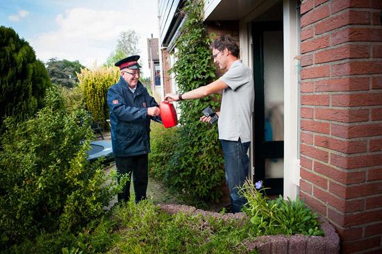 Collecteweek Leger des Heils in Rotterdam