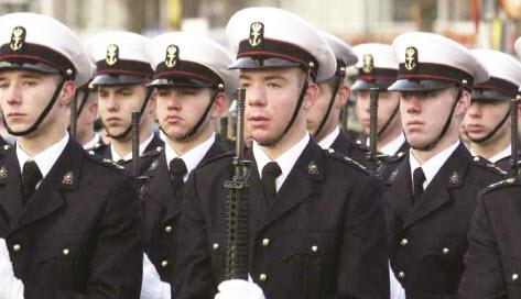 350 jaar mariniers en Rotterdam