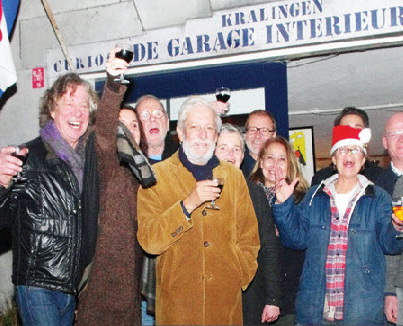 Kerstfeest in De Garage