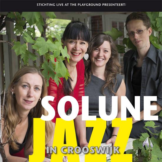Solune bij Jazz in Crooswijk