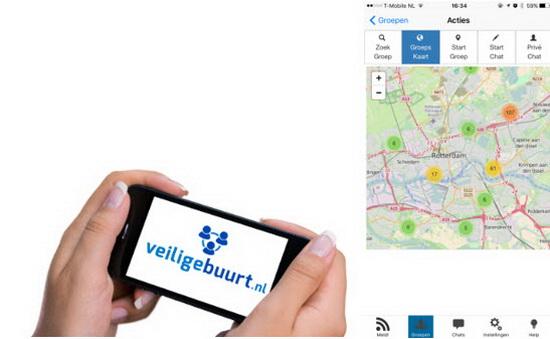 veilige buurt app web